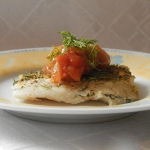 Pieczona ryba z cebulą...