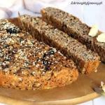 Chleb focaccia. Włoski...