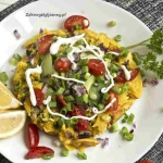 Wegański omlet z...