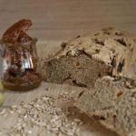 Włoski chleb z oliwkami...