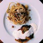 Spaghetti panzanella i...