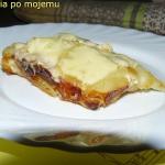 Biała lasagne...