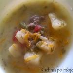 Kolorowa zupa warzywno -...