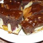 Dwukolorowe ciasto...