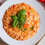 Pomidorowe risotto...