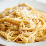 Spaghetti carbonara –...