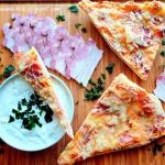 Pizza z Serem, Boczkiem...