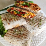 Tortilla grillowana z...