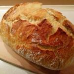 Pyszny domowy chleb z...
