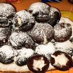 Pączki czekoladowe  z...