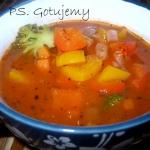 Pyszna warzywna zupa z...
