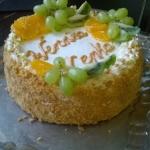 Tort kajmakowo -...