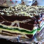 Ciasto Oczy zielone