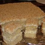 Ciasto Piña colada