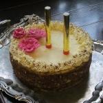 Tort orzechowo- czekolado...