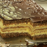 Ciasto Orzechowo- Jablkow...