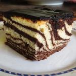 Ciasto Zebra z cola