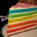 Ciasto Tęczowe