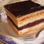 Ciasto Morelka