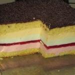 Ciasto Teczowy obloczek