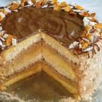 Tort orzech-toffi ( krok...