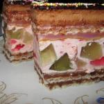 Waflowy Tort