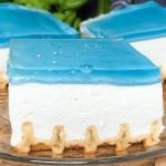 Ciasto błękitna laguna