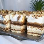 Ciasto Orzechowa Dama