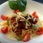 Spaghetti Bolognese ze...