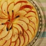 Tarta z jabłkami z...