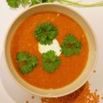 Kremowa zupa z czerwonej...
