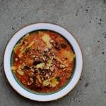 Jesienna zupa z soczewicy