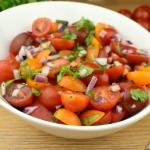 Sałatka z pomidorów...