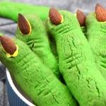 zielone paluchy wiedźmy