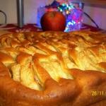 Norweskie ciasto z...