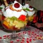 Deser owocowy
