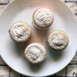 Cytrynowe muffiny owsiane