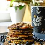 Pancakes'y z jagodami...