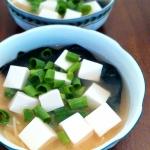 Zupa Miso z tofu i...