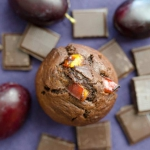 Muffinki czekoladowe ze...