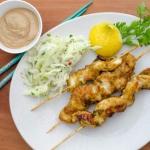 Satay z ryby