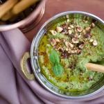 Hummus zielony