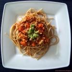 Pomidorowe spaghetti z...