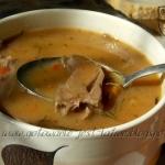Zupa gulaszowa z serc...