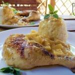 Kurczak w ananasach