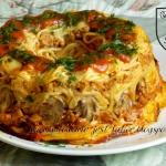 Spaghetti zapiekane a la...