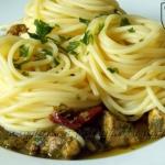 Spaghetti z kurczakiem