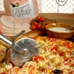 Pizza z szynką włoską...