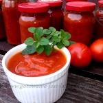 Keczup z pomidorów i...