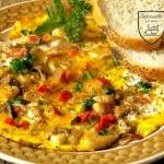 Omlet z boczniakiem